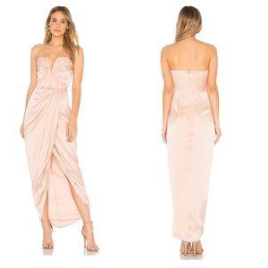 NWT REVOLVE Yumi Kim Silk Bombshell Maxi Dress